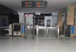 桦南县客运总站安检设备案例