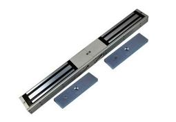 双磁力锁:QSSE-280-13外装型双开门磁力锁