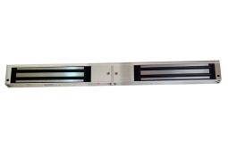 双磁力锁:QSSE-280-14外装型双开门磁力锁